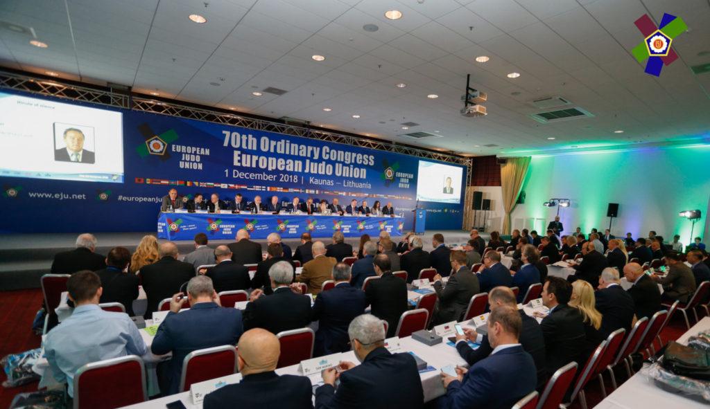 70-й конгресс Европейского союза дзюдо
