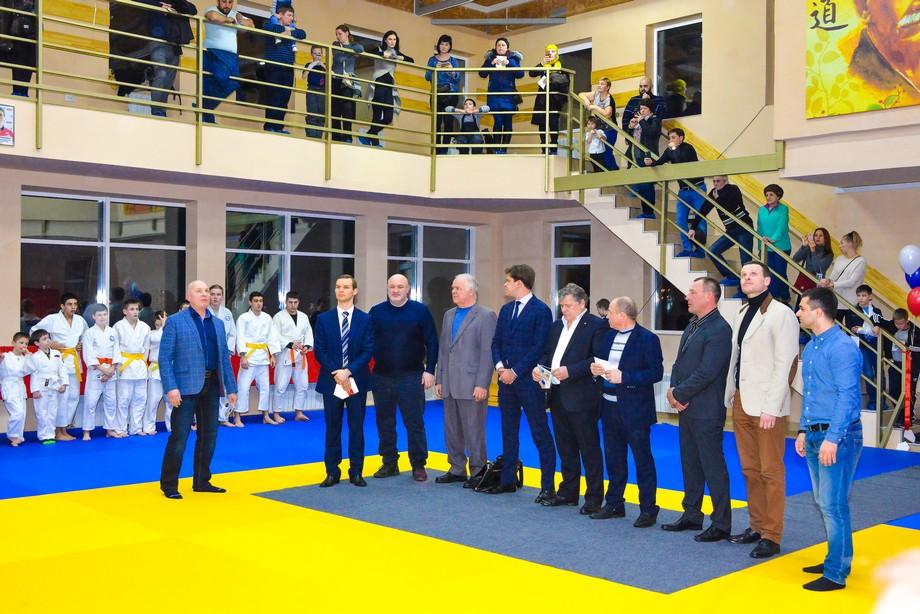 Новый спортивный зал «БрандКом–Мастерс»