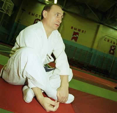 Владимир Путин и дзюдо