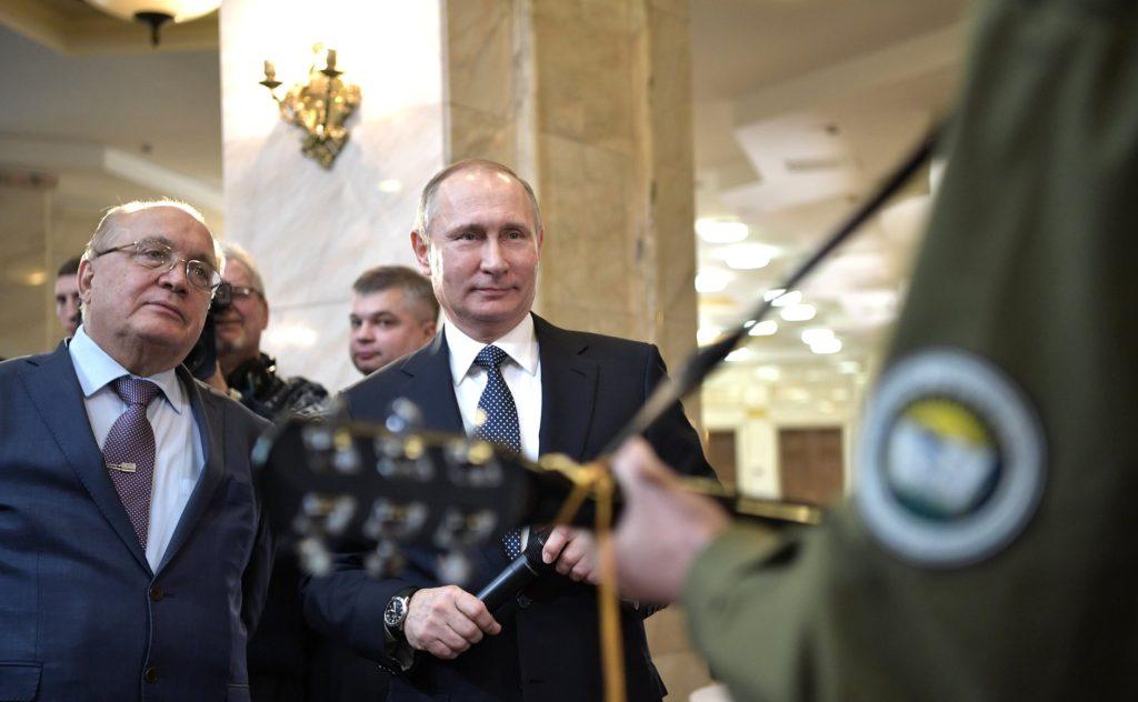 В.В. Путин – лучший в мире президент. Студенты МГУ