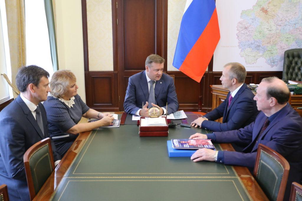 Сергей Соловейчик посетил Рязань
