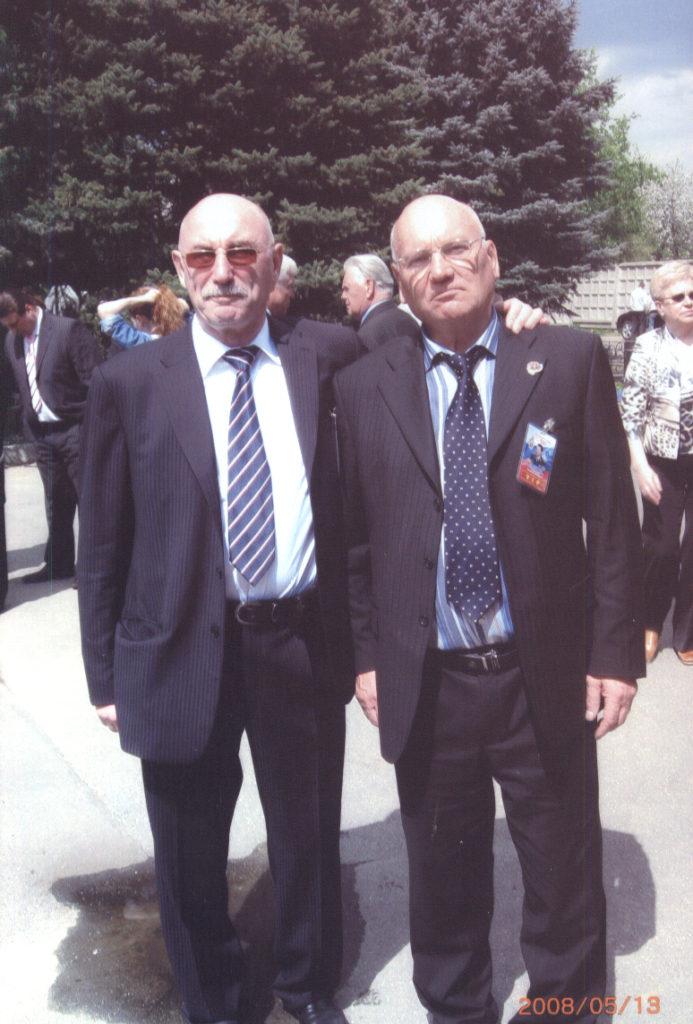 С основателем Самбо-70 Давидом Рудманом