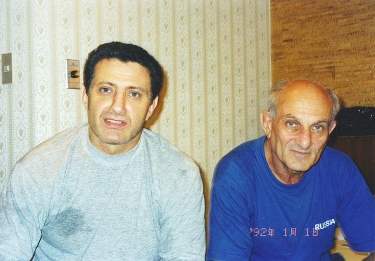 Борис с тренером