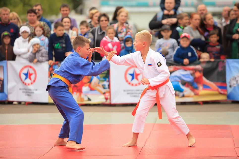 Командные соревнования по дзюдо