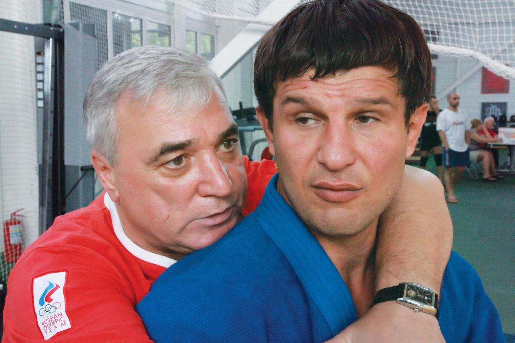 Евгений Печуров с доктором Михаилом Рыгаловым.